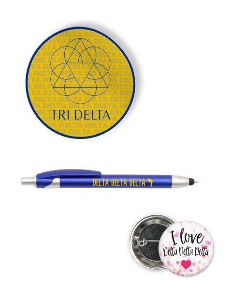 Delta Delta Delta Sorority Pack $5.99