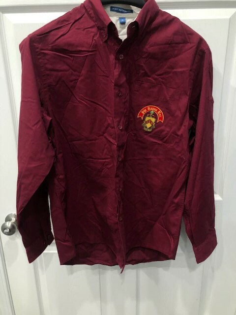New Super Savings - Phi Kappa Tau Long Sleeve Oxford - MAROON
