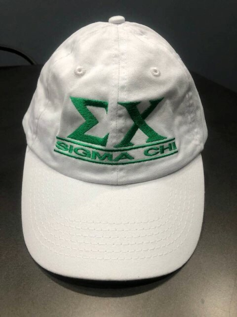 New Super Savings - Sigma Chi World Famous Line Hat - WHITE