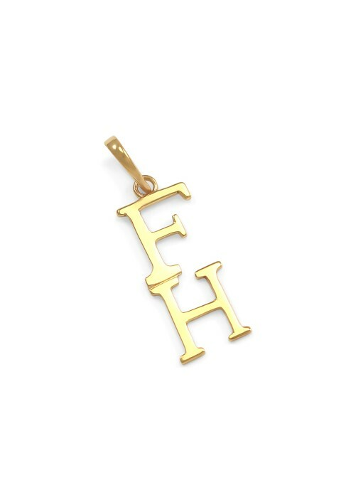 FarmHouse Fraternity 14K Solid Gold Lavaliere