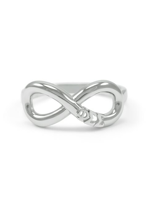 Phi Sigma Sigma Infinity Ring