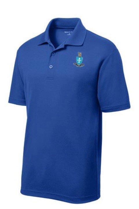 DISCOUNT-Sigma Chi Emblem Polo