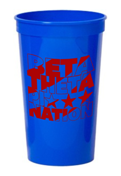 Beta Theta Pi Nations Stadium Cup - 10 for $10!