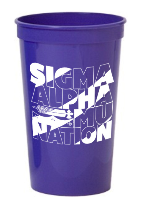 Sigma Alpha Mu Nations Stadium Cup - 10 for $10!