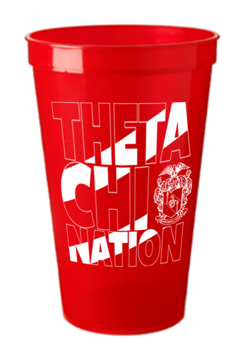 Theta Chi Nation Plastic Cup - 10 for $10!