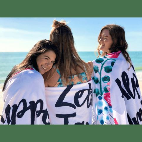 Sorority Fringe Towel Blanket