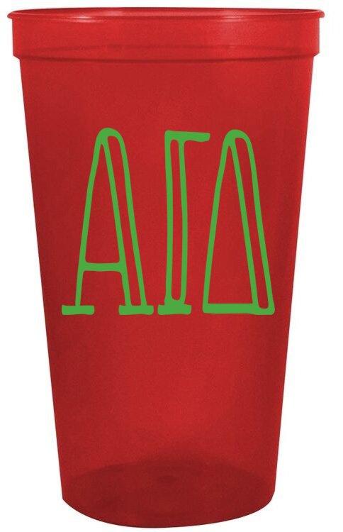 Alpha Gamma Delta Carson Stadium 22 oz. Cup
