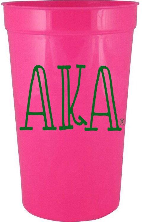Alpha Kappa Alpha Carson Stadium 22 oz. Cup
