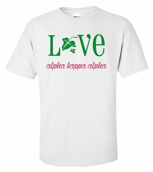 AKA Love Mascot T-Shirt - MADE FAST!
