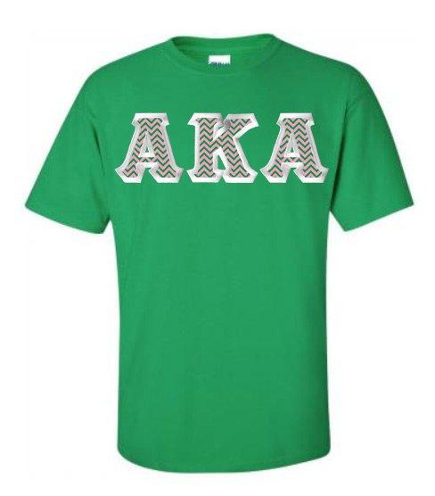$15 Alpha Kappa Alpha Custom Twill Tee