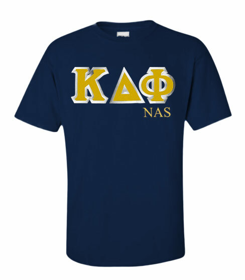Kappa Delta Phi Custom Twill Short Sleeve T-Shirt