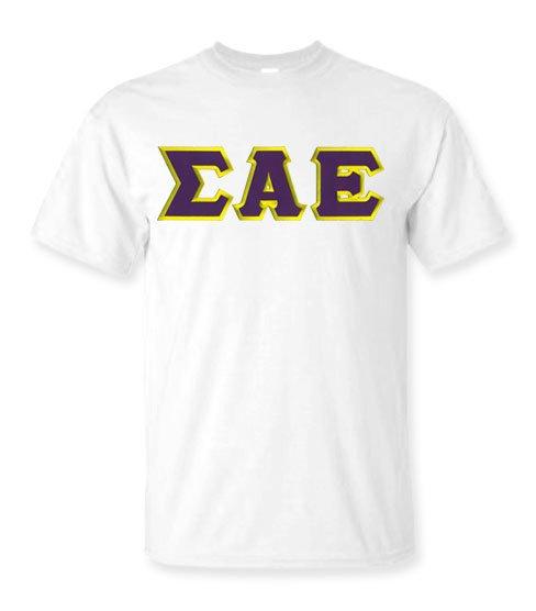 $15 Sigma Alpha Epsilon Lettered T-shirt