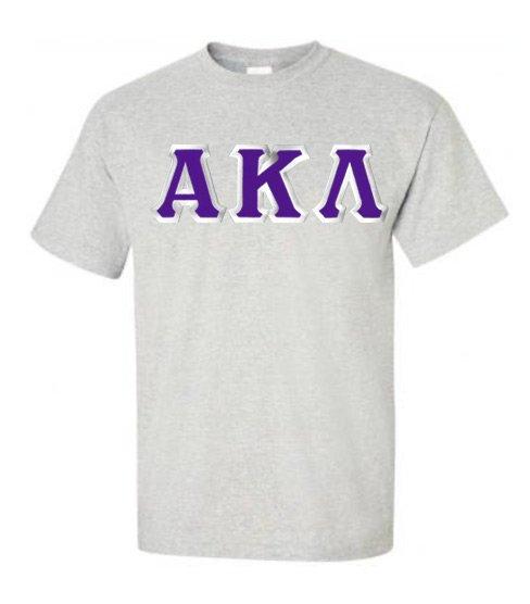 Alpha Kappa Lambda Custom Twill Short Sleeve T-Shirt