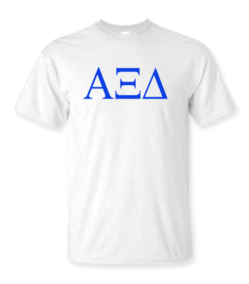 Alpha Xi Delta Lettered Tee - $14.95!