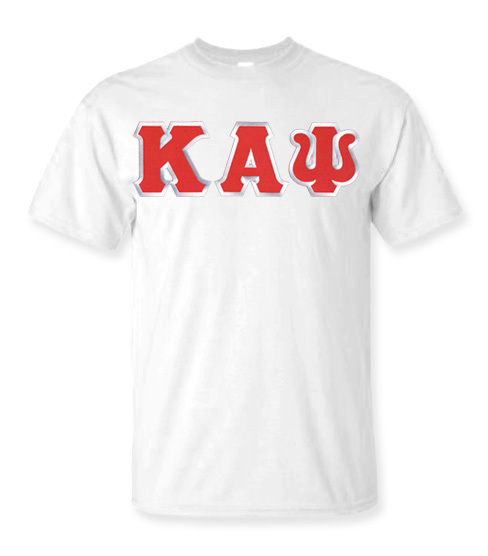 DISCOUNT Kappa Alpha Psi Lettered T-shirt