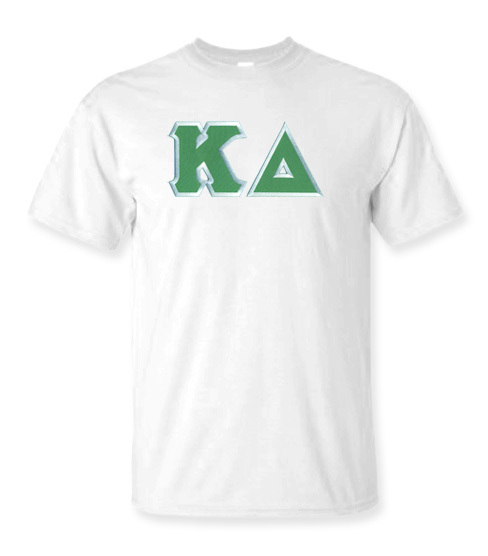 DISCOUNT Kappa Delta Lettered Tee