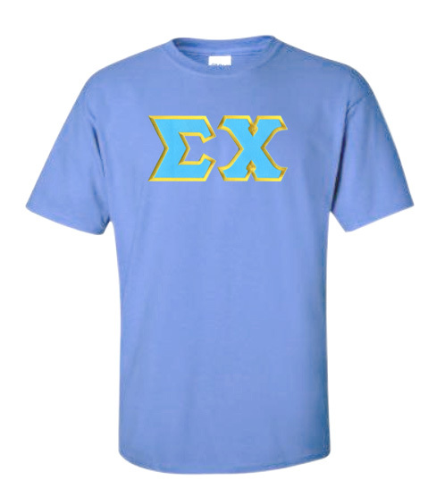 DISCOUNT Sigma Chi Lettered T-shirts
