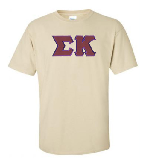 DISCOUNT Sigma Kappa Lettered Tee