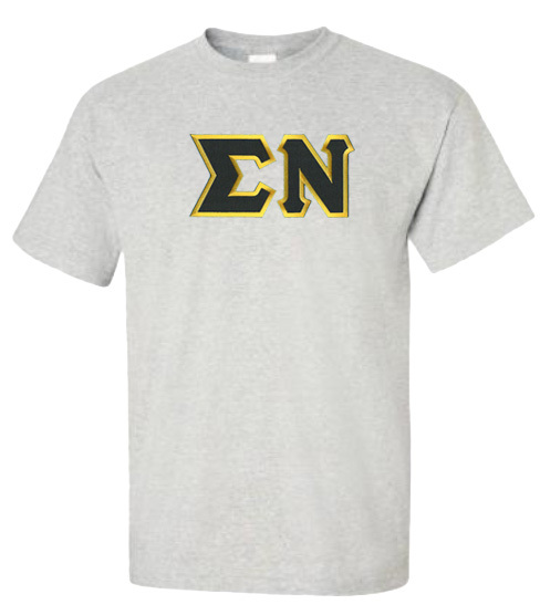 DISCOUNT Sigma Nu Lettered T-shirt