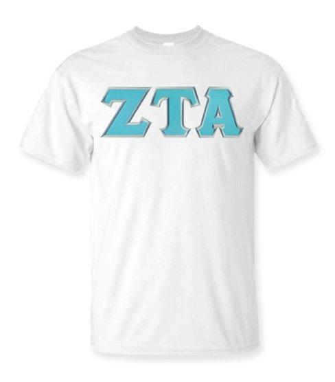 DISCOUNT Zeta Tau Alpha Lettered Tee