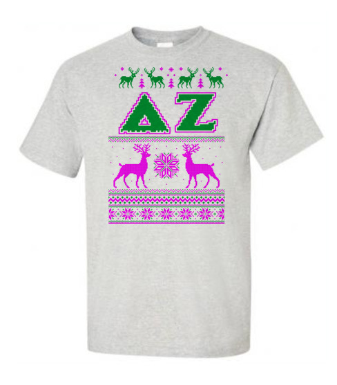 Ugly Sweater Greek Letter T-shirt