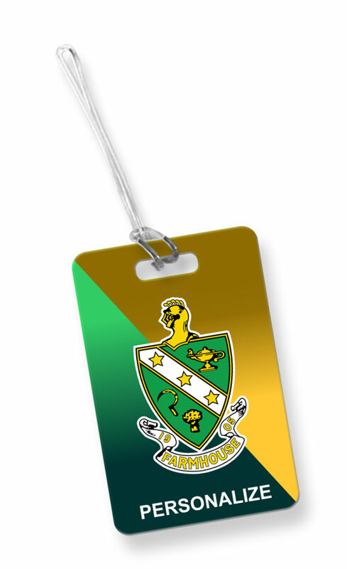 FarmHouse Fraternity Luggage Tag