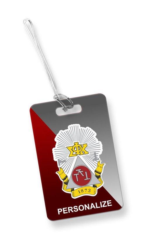 Phi Sigma Kappa Luggage Tag