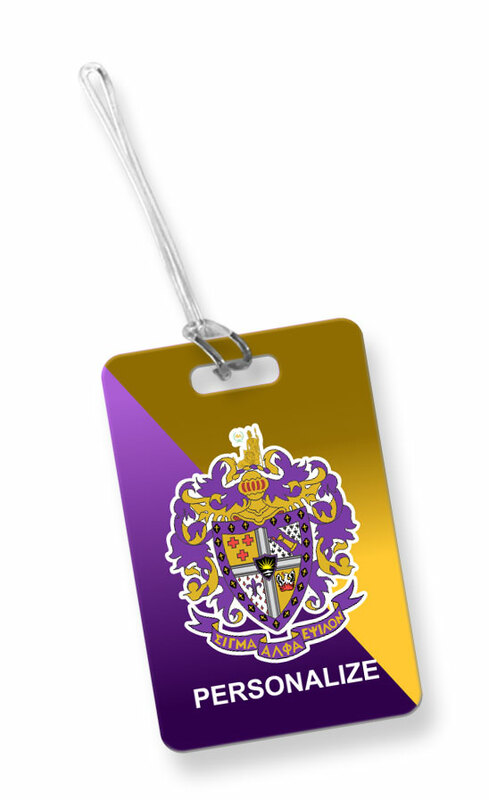 Sigma Alpha Epsilon Luggage Tag