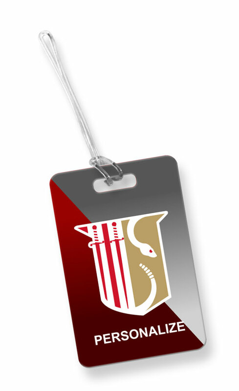 Theta Chi Luggage Tag