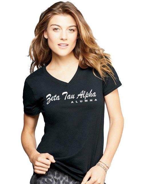 Zeta Tau Alpha Alumna V-neck