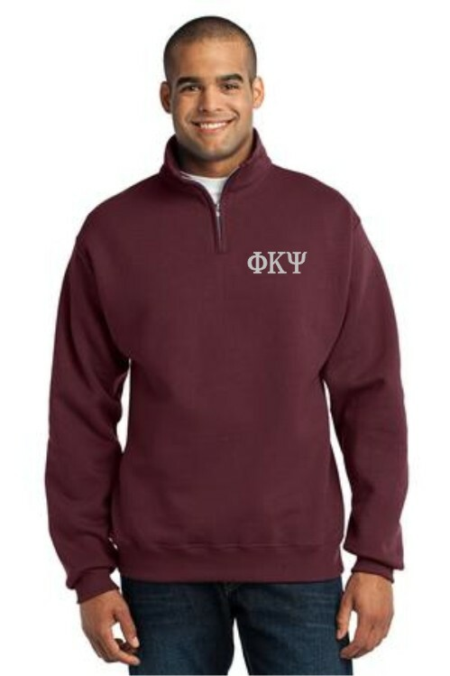 Greek 1/4 Zip Pullover