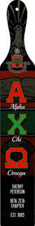 Alpha Chi Omega Custom Full Color Paddle