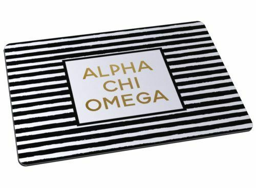 Alpha Chi Omega Striped Mousepads