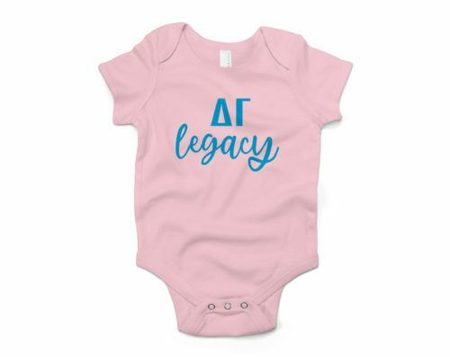 Delta Gamma Legacy Baby Outfit Onesie