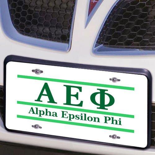 Alpha Epsilon Phi Lettered Lines License Cover