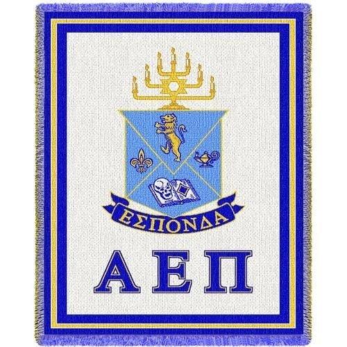 Alpha Epsilon Pi Afghan Blanket Throw