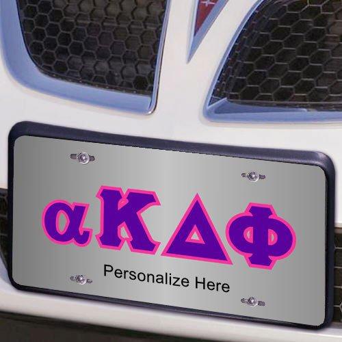 alpha Kappa Delta Phi Lettered License Cover