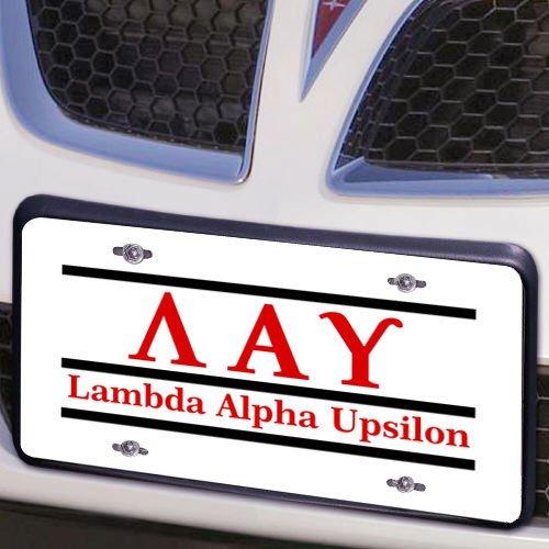 Lambda Alpha Upsilon Lettered Lines License Cover