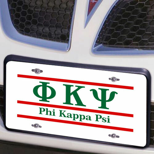 Phi Kappa Psi Lettered Lines License Cover