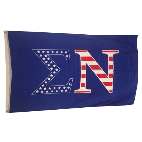 Sigma Nu USA Greek Letter Flag