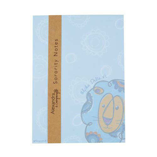 Sorority Mascot Notepad
