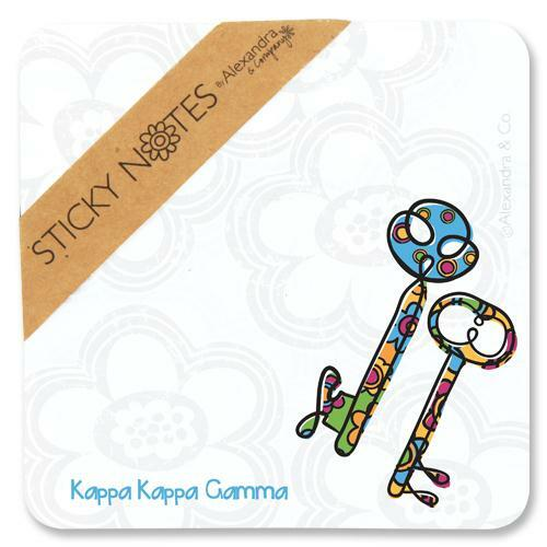 Sorority Mascot Sticky Notes - closeout