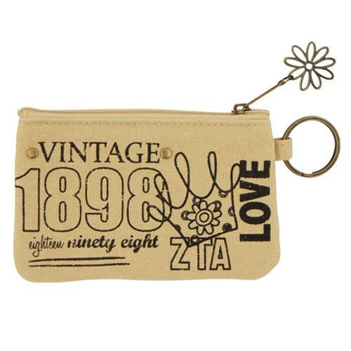 Sorority Vintage Coin Purse  - CLOSEOUT
