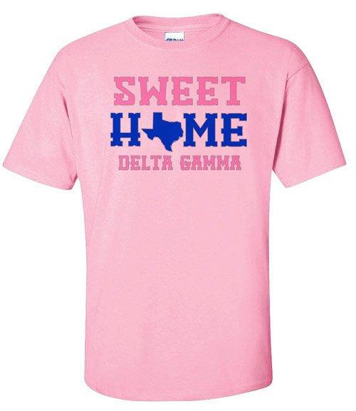 Delta Gamma Sweet Home Tee