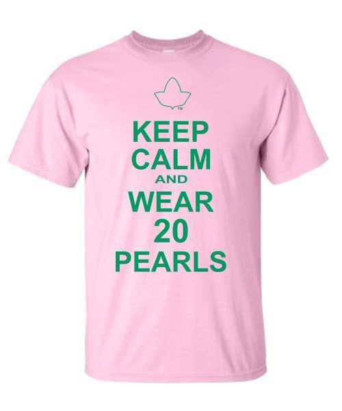 Alpha Kappa Alpha Keep Calm T-Shirts