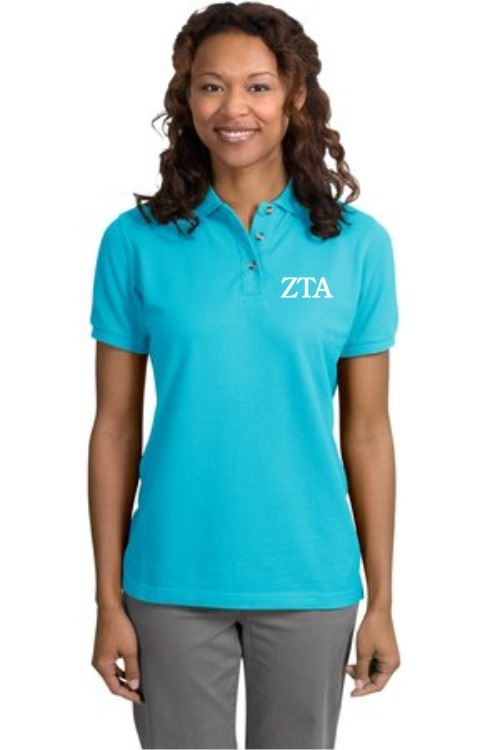 Sorority Pique Ladies Polo