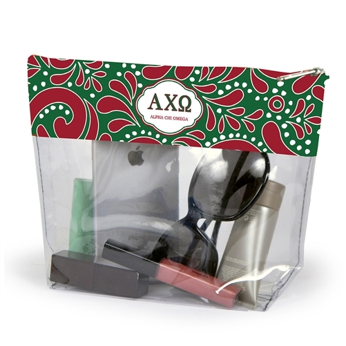 Alpha Chi Omega Travel Pouch