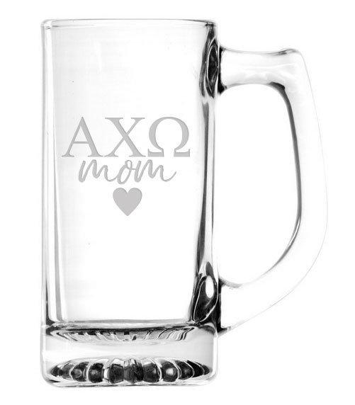 Mom Or Dad Glass Engraved Mug