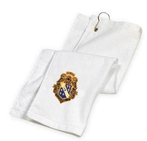 Alpha Phi Omega Crest Golf Towel