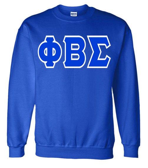Jumbo Twill Phi Beta Sigma Crewneck Sweatshirt